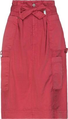High 3/4 length skirts