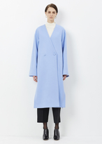 Ports 1961 azure double breasted coat