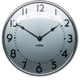 Rejuvenation Polished Aluminum Standard Wall Clock