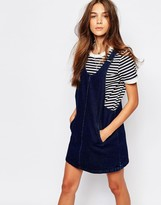 Pull&Bear Denim Pinny Dress
