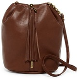 Hobo Timber Leather Shoulder Bag