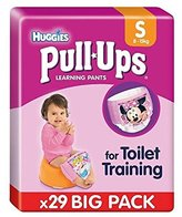 Huggies Small Pull Ups Girl Economy Pack 29 per pack - Pack of 4