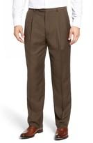 Linea Naturale Men's Pleated Microfiber Dress Pants