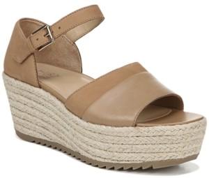 Naturalizer Opal Platform Wedge Sandals Women's Shoes