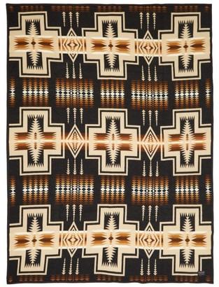 Pendleton Harding Jacquard Wool And Cotton-blend Blanket - Multi