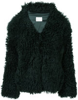Dion Lee shearling coat