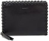 AllSaints Fleur De Lis Small Leather Wallet