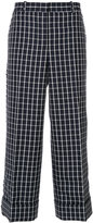 Thom Browne checked sack trousers