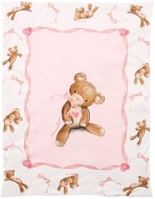 MonnaLisa Padded Cotton Jersey Blanket