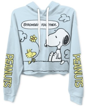 Freeze 24-7 Juniors Snoopy Graphic Print Hoodie