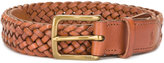 Polo Ralph Lauren interlaced leather belt