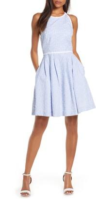 Lilly Pulitzer Tori Sleeveless Eyelet Fit & Flare Dress