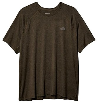 The North Face Hyperlayer FD Short-Sleeve Crew (New Taupe Green Heather) Men's Clothing