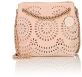Stella McCartney WOMEN'S NOMA EYELET MINI-CROSSBODY-PINK