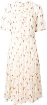 Masscob floral print flared dress