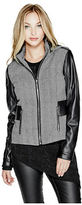 G by Guess GByGUESS Women's Gabriella Tweed Jacket