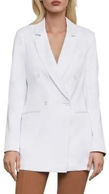 BCBGMAXAZRIA Double-Breasted Long-Sleeve Blazer