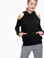 Splendid Soft Cotton Cold Shoulder Sweatshirt