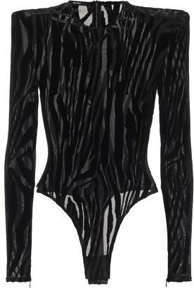 Alex Perry Howell stretch-jersey bodysuit
