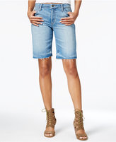 Joe's Jeans The Finn Yenz Wash Denim Bermuda Shorts