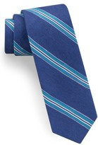 Ted Baker Men's Stripe Linen & Silk Tie