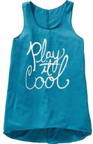 Old Navy Girls Scoop-Neck Tanks