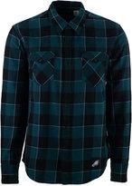 Levi's Men's Philadelphia Eagles Plaid Barstow Western Long-Sleeve Shirt