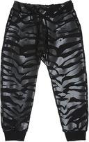 Kenzo Tiger Print Cotton Jogging Pants