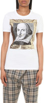 Anglomania Shakespeare cotton-jersey t-shirt