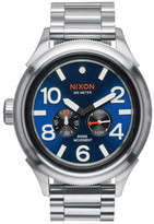 Nixon &The October Tide& Multifunction Bracelet Watch, 49mm