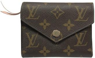 Louis Vuitton Victorine Pink Cloth Wallets