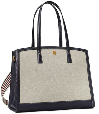 Tory Burch Walker Canvas Satchel