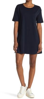 Stateside Supima Pocket T-Shirt Dress