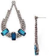 Aqua Hazel Teardrop Earrings