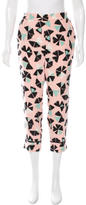 Marc by Marc Jacobs Printed Silk Pants