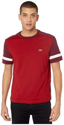 Lacoste Short Sleeve Jersey Color Block T-Shirt Regular