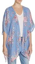 En Creme Floral Print Kimono - 100% Exclusive