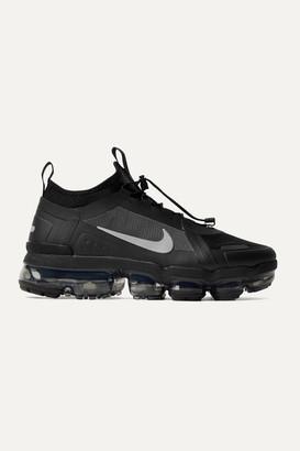 Nike Air Vapormax 2019 Utility Mesh And Pvc Sneakers - Black