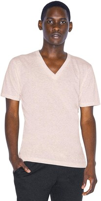 American Apparel Unisex Tri-Blend V-Neck Short Sleeve T-Shirt