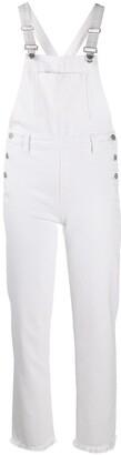 J Brand Buttoned Slim-Fit Jumpsuit