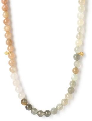 THE ALKEMISTRY Moonstone Beaded Necklace