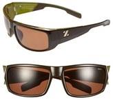 Zeal Optics Women's 'Snapshot' 65Mm Polarized Sunglasses - Green/ Olive