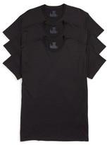 Hanes Men's Luxury Essentials 3-Pack Crewneck T-Shirt