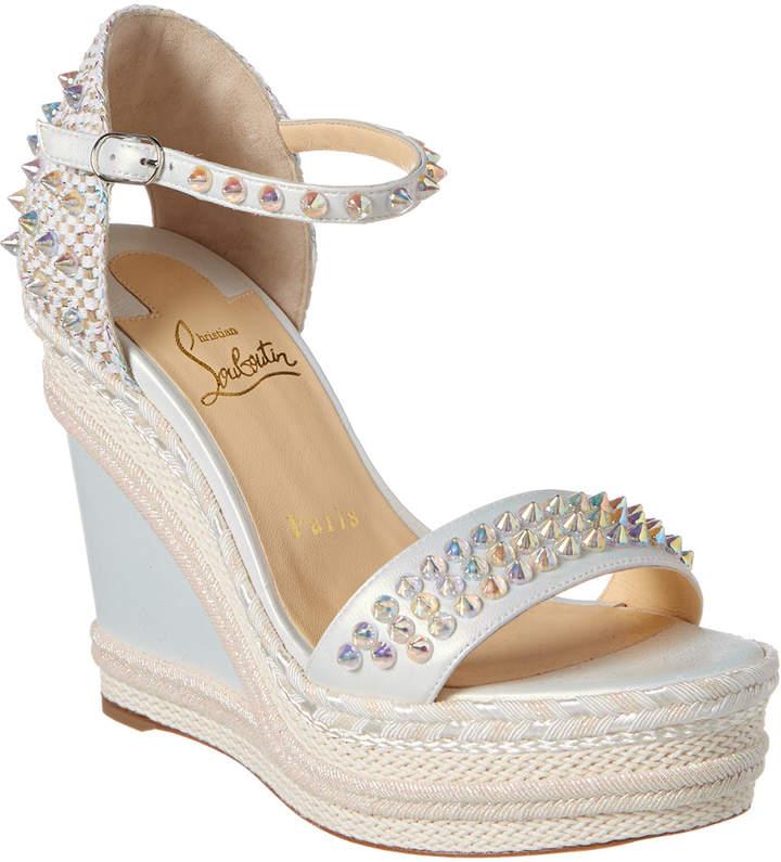 separation shoes e4d80 e7c01 Madmonica 120 Leather Wedge Sandal