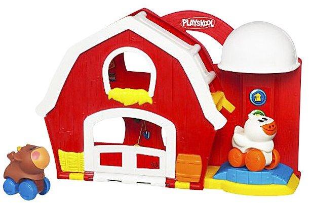 Playskool Wheel Pals Travel Tails - Barn