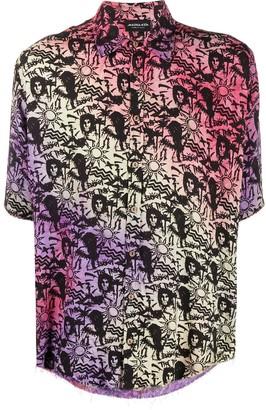 Mauna Kea Hawaiian tie-dye shirt