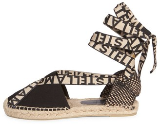 Stella McCartney Gaia Flat Espadrille Sandals