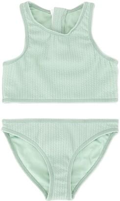 Duskii Girl Aya zip bikini set