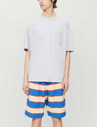 Acne Studios Patch pocket cotton-jersey T-shirt