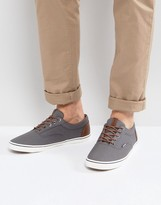 Jack and Jones Vision Mixed Sneakers In Gray
